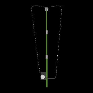 CrankIR Portable Vertical Antenna