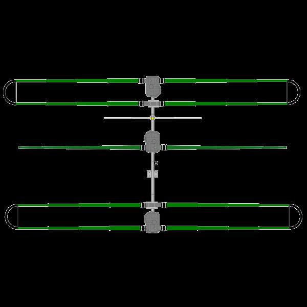 DB18 Yagi Antenna, 40m-6m
