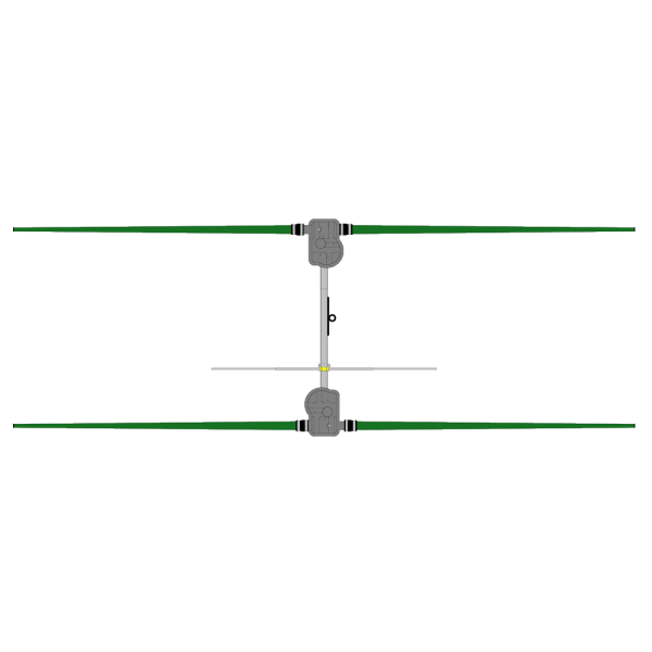 2 Element Yagi Antenna, 20m-6m