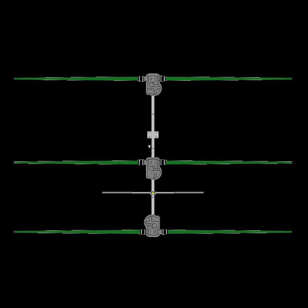 3 Element Yagi Antenna, 20m-6m