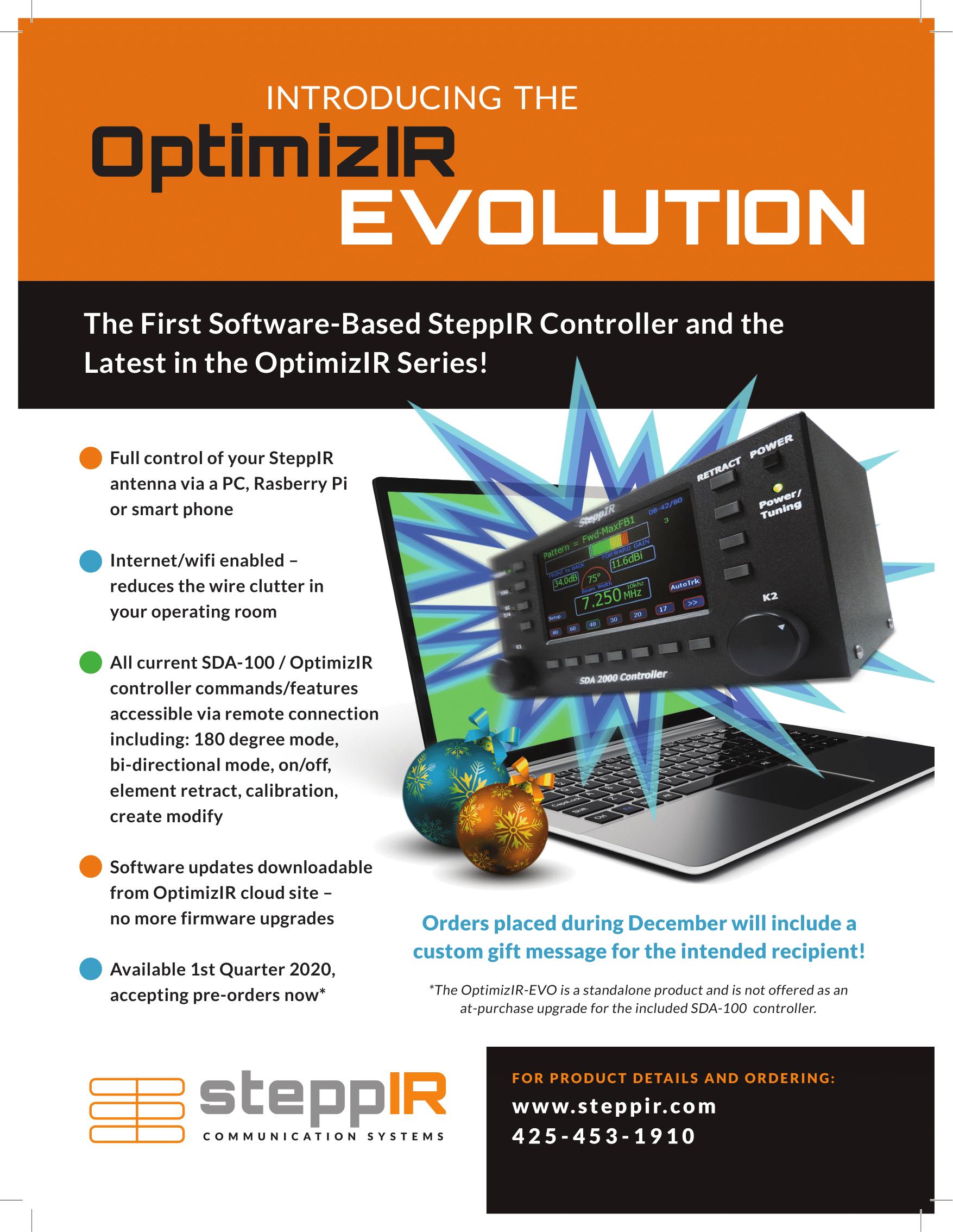 Introducing the OptimizIR Evolution!
